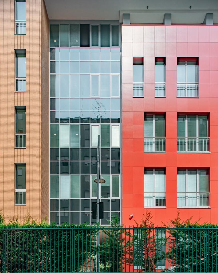 Fotografo architettura Milano Hospice Vidas